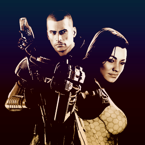 Mass Effect. One of the best video game series out there. And just in general, one of the best stories and pieces of science fiction in general. Simply amazing, enthralling, and exciting.