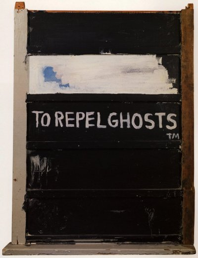 themetropolitanline:  Jean-Michel Basquiat - To Repel Ghosts (1986)