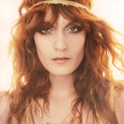 Florence Welch by Mario Testino for UK Vogue Jan 2012
