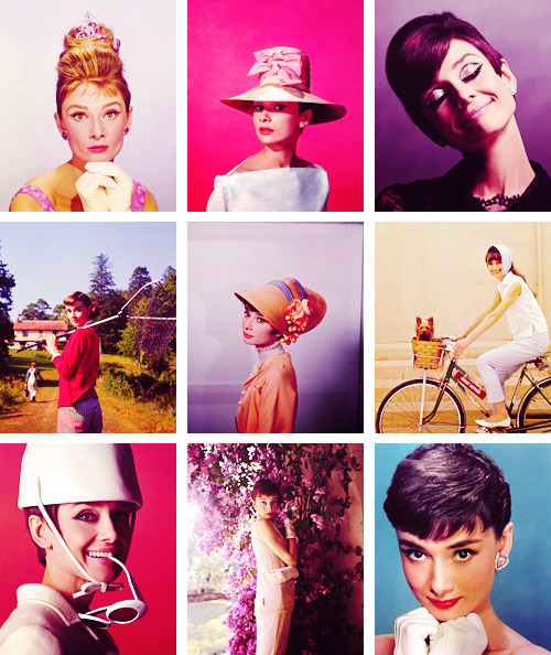"celeb alphabet // A Audrey Hepburn ""For me, the only things of interest are those linked to the heart."""