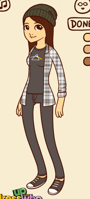 VICKI I SAW A HIPSTER DRESS UP GAME AND I JUST COULDN'T RESIST …I have a lot of free time.