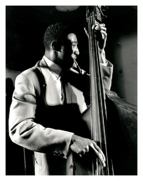 the-rice-of-life:  Ray Brown  Ray brown on bass, he's one the best bass players i've ever heard. thank you the rice of life for posting this on tumblr.