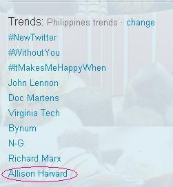 xiobekhulit:  @allisonelisabeta The Mother Owl  is trending as of 08:55am Philippine time!
