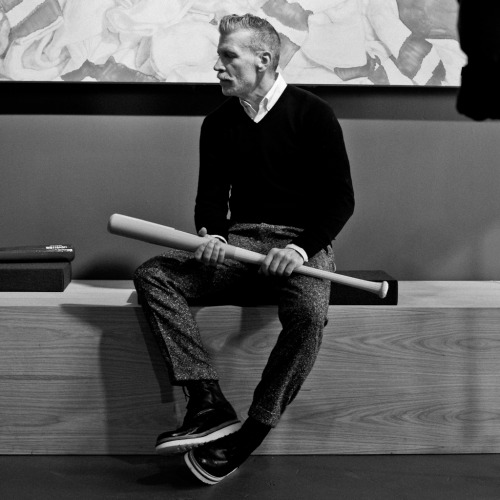 modrockers:  Nickelson Wooster, 12.8.2011. Shot by Sean Sullivan. weapon of choice.