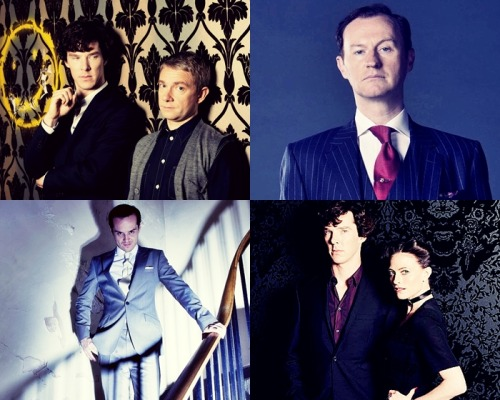 Sherlock Series 2 promo photos
