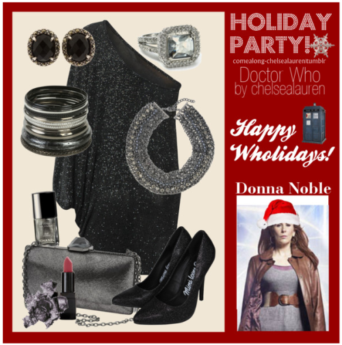 Donna Noble - Wholiday Party - | Doctor Who - Click here!