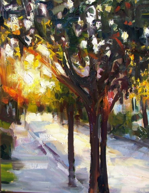 fycharleston:  Afternoon Sun on QueenArt by Rick Reinert