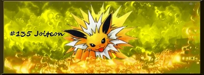 My second Jolteon sig :3