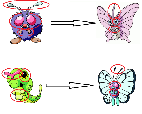it is a fact that Venomoth was originally meant to evolve into Butterfree but was then changed.