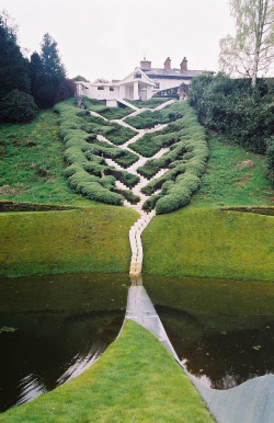 The Garden of Cosmic Speculation by Charles Jencks and Maggie Keswick: Keeping a garden in homage to mathematics is way better than playing Farmville.