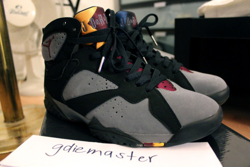 "jefferrrson:  FOR SALE: VNDS Air Jordan 7 ""Bordeaux"" size 9.5. $160 + shipping.  Worn once. Released in 2011. 100% authentic. Comes with everything. PURCHASE HERE.  ""ARE THE SHOES STILL AVAILABLE?"" has got to be the dumbest question that a seller hears. If the shoes are still up for listing, wouldn't that make it currently available?  GAHD. If you want the shoe, just quickly offer up. SIMPLE."