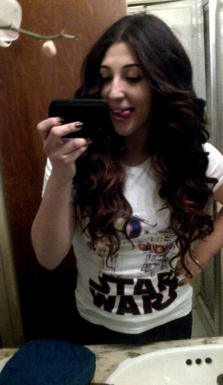 STAR WARS TEE BITCHES! favorite new top <3
