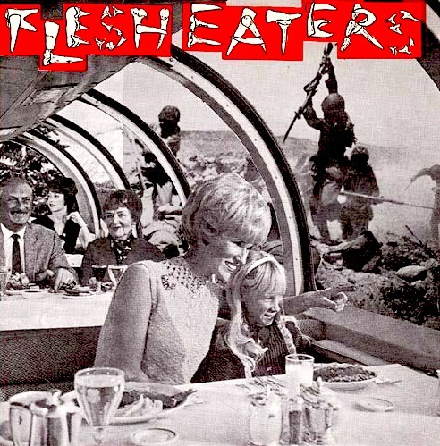 "The Flesh Eaters - S/T 7"" - Released on Upsetter Records, 1978 Tracklist: 1]  Disintegration Nation 2]  Agony Shorthand 3]  Radio Dies Screaming 4]  Twisted Road Flesh Eaters - Mediafire Be sure to check out the source page, it has tons of info and rare punk records you can download. Enjoy!"
