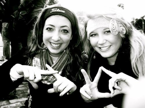 My KD bestie and I.  Throw what you know!