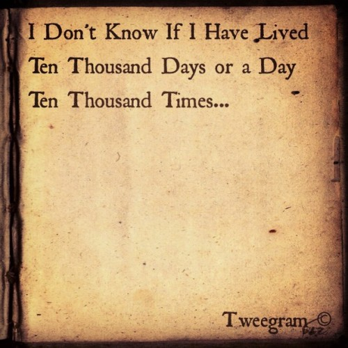 Don't Know #lived #thousand #day #days #ten #think #appreciate #know #life #dreams #pursue  (Taken with instagram)