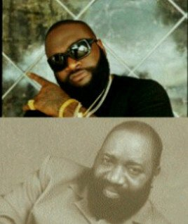 Saw this bit, and i thought it was quite hilarious. Rick Ross and Nigeria's high-life legend, the late great Oliver De Coque kinda sorta look alike tho.