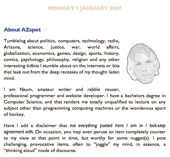 azspot, January 2007, page 1920