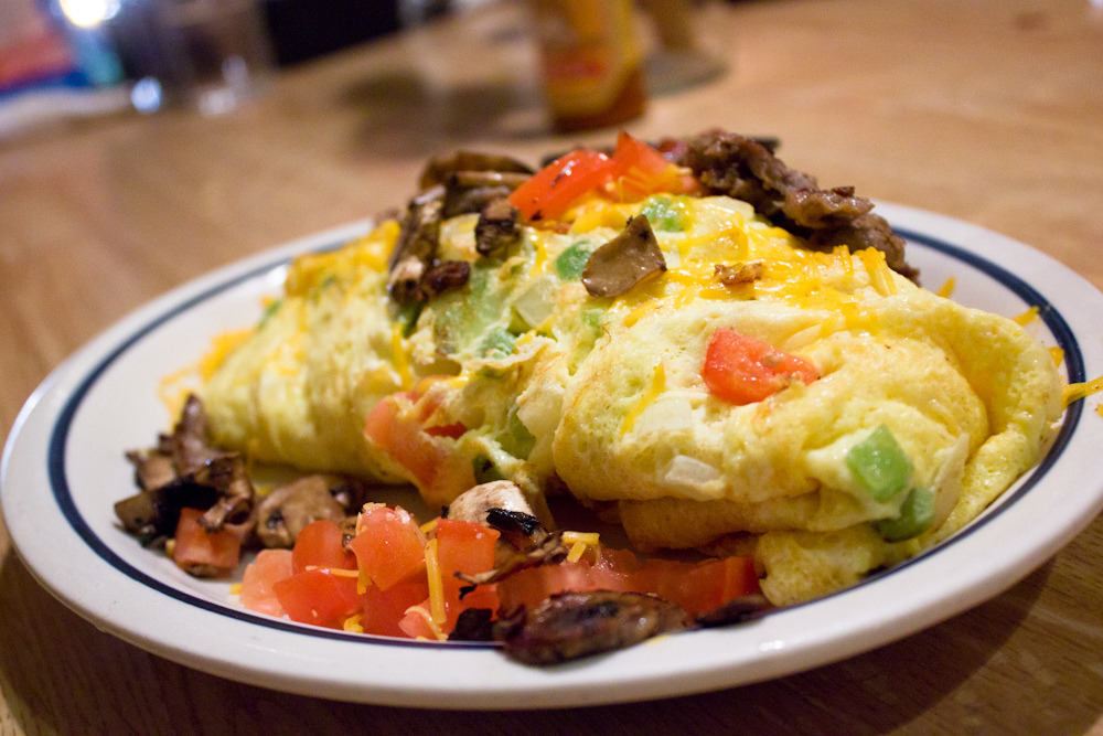 IHOP Big Steak Omelette