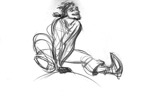 scurviesdisneyblog:  Flynn Rider By Glen Keane