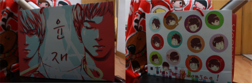 YJlove <This is YoonJae> paper bag size: 30*40*10cm print: coloured; rope colour: red; bottom colour: red price: US$2.5 contact detail: with.yjlove@gmail.com