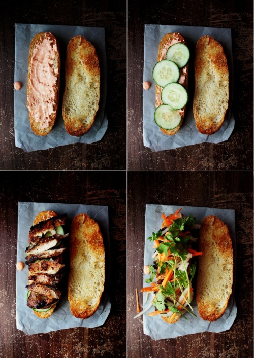 ephe:  Grilled Chicken Banh Mi