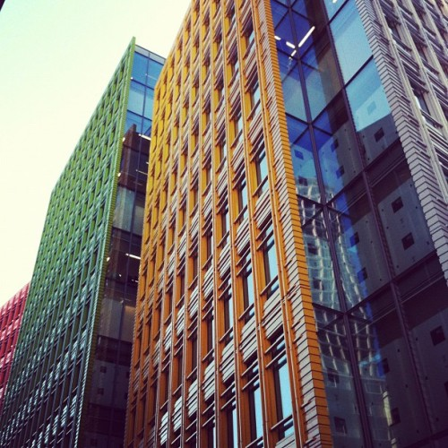 Like Lego (Taken with Instagram at Central St Giles)