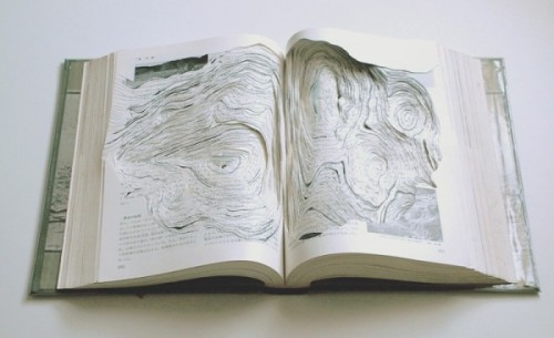 tylerelizabeth:  Book/paper sculptures by Noriko Ambe