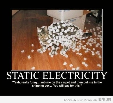 the-aman:  Static electricity