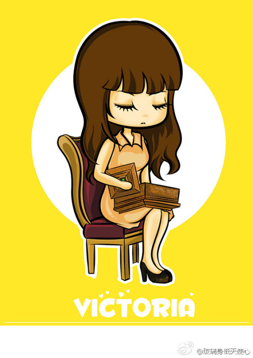 [FANART] Victoria/ Qiannie - Blind Music Video  cr:  		玻璃身纸天使心 - via forsongqian Lils
