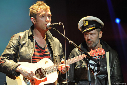 stanlag:  Gorillaz. Damon Albarn & Paul Simonon by sophie jarry on Flickr.