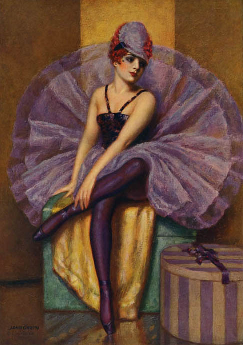 "vintagegal:  ""The Violet Butterfly"" by John Garth 1930's"