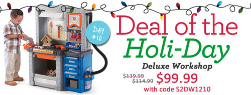 Final Deal – Deluxe Workshop is just $99.99 with code S2DW1210 at checkout. 24 hours only!
