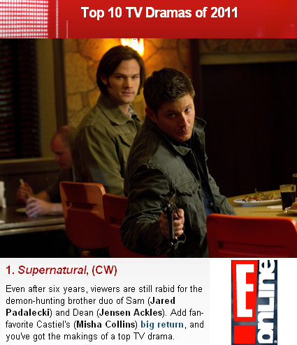 coporolight:  sam-and-dee:  OH, LOOK! SUPERNATURAL HAS WON ANOTHER POLL. The Supernatural fandom gets shit done.