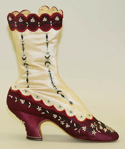 "Boots, 1880s Met "" … one of these days these boots are gonna walk all over you …"""