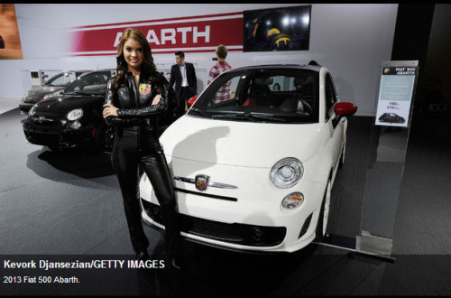 "2013 FIAT 500 Abarth on ""Top Must Drive Cars of 2012"" List. You know you're good when the highly respected and trusted Canadian automotive website Wheels.ca, puts you on their ""Top Must Drive Cars of 2012"" list.  The folks at wheels.ca believe the newly launched 2013 FIAT 500 Abarth is a step in the right direction for FIAT to help shed its ""girly"" image.   What do you think fans?  To read the article in its entirely, follow this link or click the image provided."