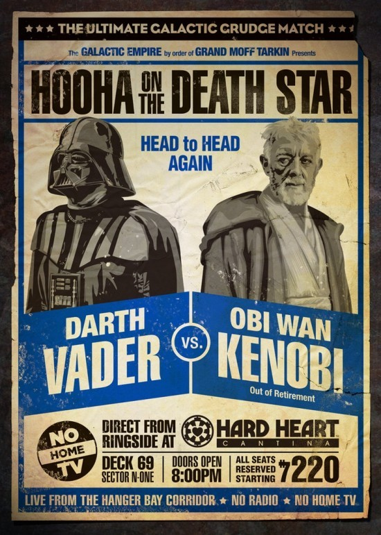 Head to head again - Vader vs Kenobi