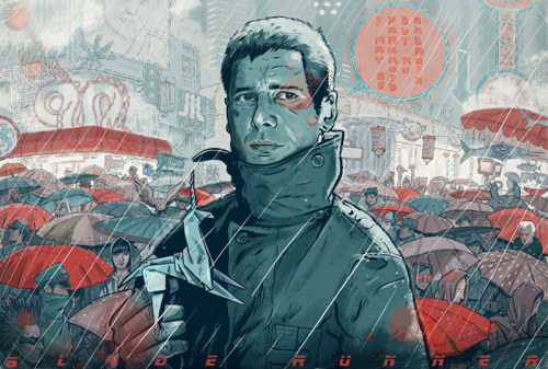 magnolius:  Blade Runner by Mateusz Kołek, freelance illustrator & graphic designer based in Cracovia, Poland.