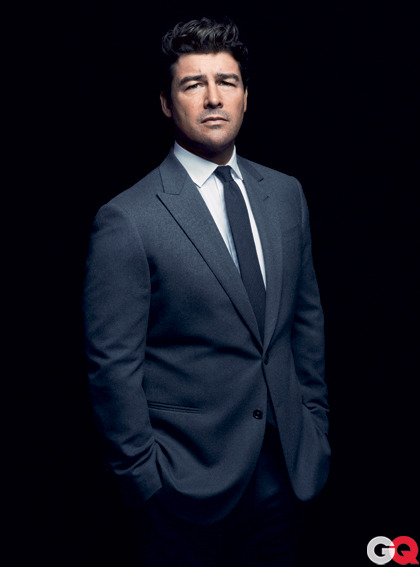 "iamsangsouvanh:  gq:  GQ's Coach of the Year Kyle Chandler Ain't no better way to honor Kyle Chandler—who plays coach Eric Taylor in Friday Night Lights—than to summon Buzz Bissinger, the man whose book inspired the series. Bissinger begins his tribute to Chandler with a confession:  ""I am on my third marriage, and it is going pretty well, but hell, I would marry the television version of Kyle Chandler in an instant. I don't think I'm his type.""  Find the rest here.   This is the best thing, ever. ""Clear eyes, full hearts; can't lose""  Cant find a better man."