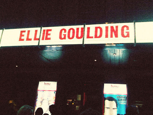I love Ellie Goulding