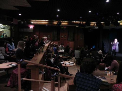 Refreshers Week Poetry Slam Thursday, 19 January - 7:30PM - Pleasance Cabaret Bar  Join us for our first Poetry Slam of 2012!   You can expect an excellent evening of original poetry from both local slam poetry legends and fresh, new faces in competition for an unprecedented prize. The winner of this slam will be awarded a bottle of something alcoholic and a place in the Scottish National Poetry Slam Championships.We were thrilled to see so many new performers at the last slam and welcome prospective poets of any level of experience. If you would like to perform, please contact us at euenglitsoc@gmail.com with your name, email and phone number (optional)!   See you there.