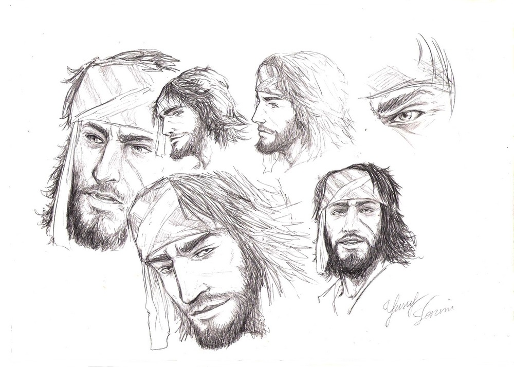 winterscoming:  Yusuf sketches lackoftimelackoftimelackoftime