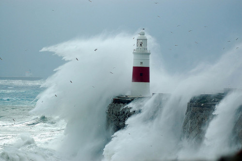 vvillowtree:  Gibraltar lighthouse by Josh13770 on Flickr.