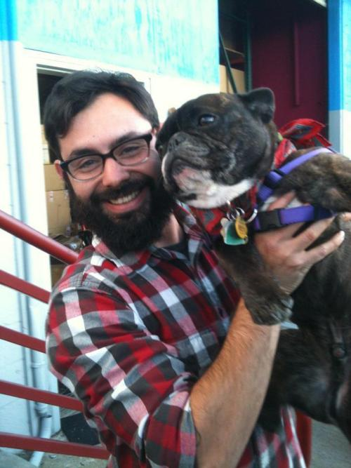 PUPPIES AND BEARDS    ALWAYS A WINNING COMBO    $