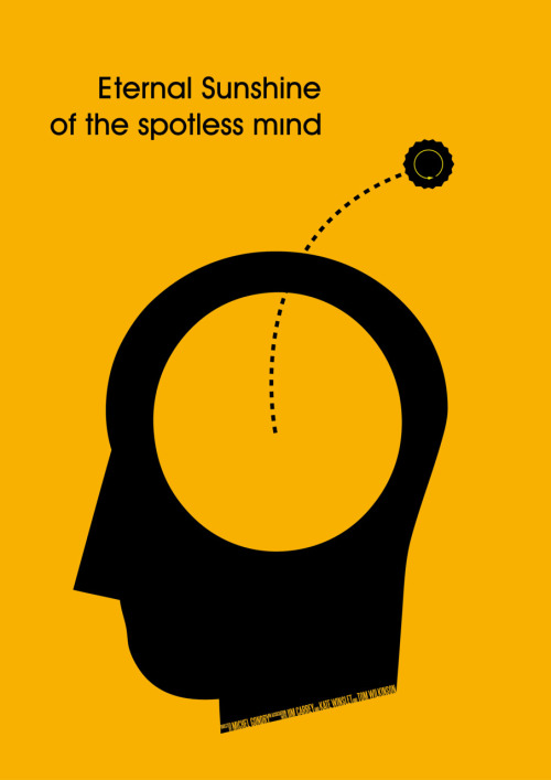 minimalmovieposters:  Eternal Sunshine of the Spotless Mind by Lefteris Kastrinakis