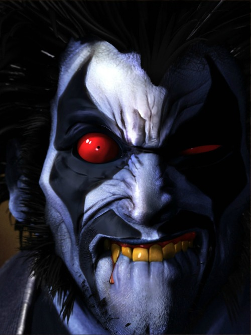 "Lobo ""The Main Man"" DC's most badass character!  hayleyquinnn:  You better Hope Lobo is goin' Solo… Lobo, by Saad Irfan."
