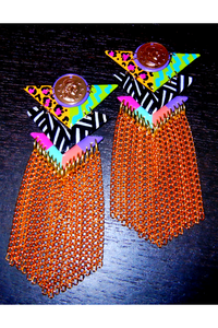 richgirlscloset:  RASHIDA GURL | Tanika Earrings - $30.00