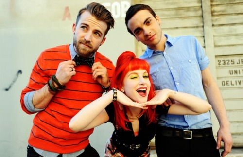 "fueledbyramen:  Click HERE to check out a bonus excerpt from Paramore's interview in the new issue of Alternative Press. In it, the band expand on how they leaned on each other and their fans to get through a tough year, explore the idea of home, talk about what Warped Tour means to them and reminisce about their early touring days — and how things have changed. ""It was nice just getting back to our fans. They're the reason we're still here, anyways. Being so close with the ones that kind of built us up since we started, those are the people that were in the front row of every Warped tour date. Every single date we played, I saw at least 2 or 3 people in the front row that had been coming to our shows since 2005. And that was huge for me. I could have cried every single day, cause it's just like, 'Why are you still here?'"""