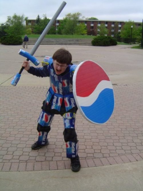 Pepsi Warrior  Pepsi's new spokesman isn't so impressive.