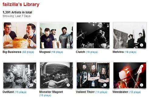 My last.fm for 12/03/11 - 12/09/11