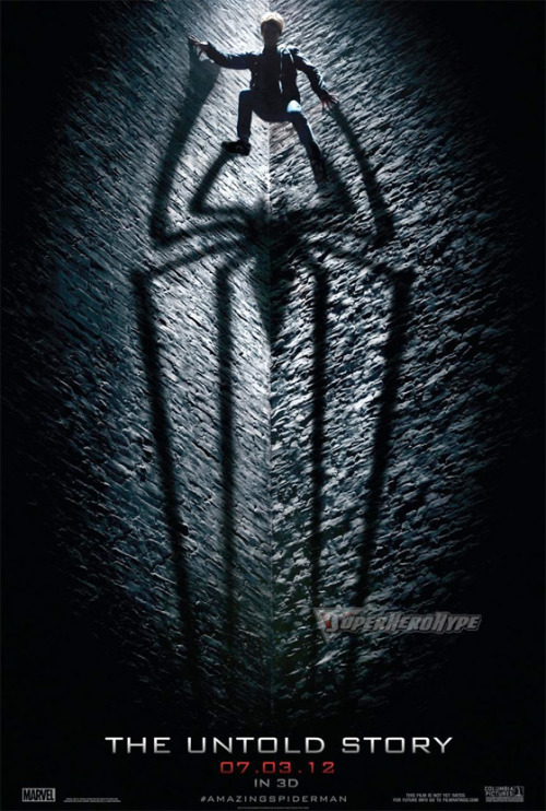fuckyeahmovieposters:  The Amazing Spider-Man